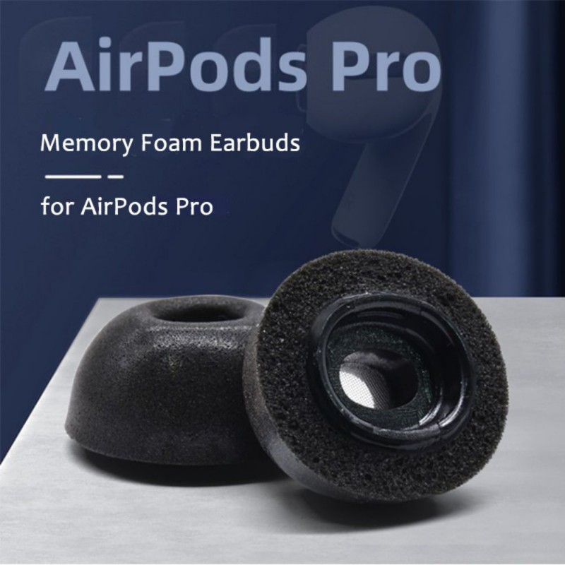 Replacement Memory Foam Ear Tip Buds For Apple Airpods Pro H